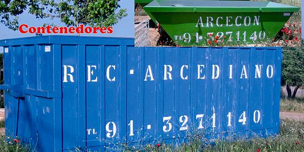 Arcediano Recuperaciones - Alquiler de contenedores