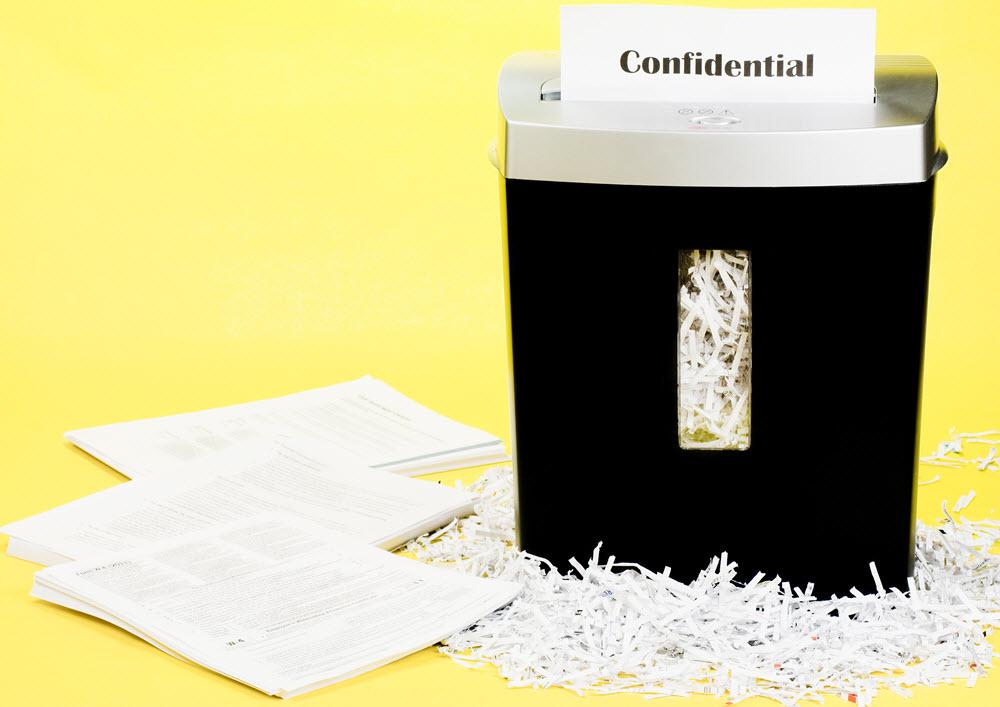 destrucción confidencial