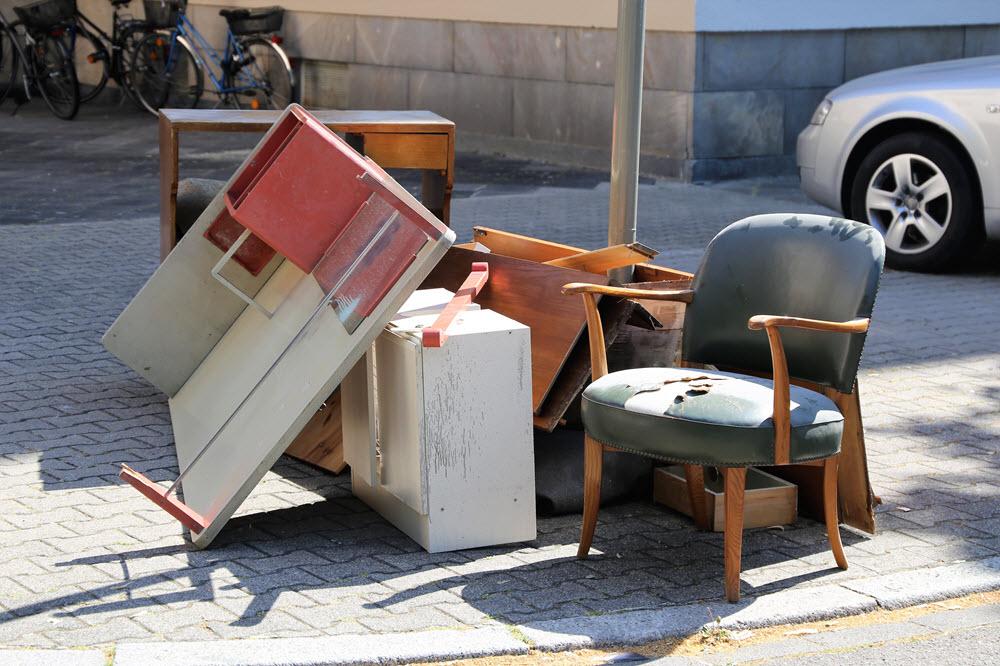 muebles usados